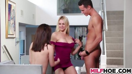 MILF Teachs Sweet young Teens